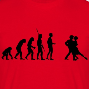 Dancing Evolution  T-shirts - Herre-T-shirt