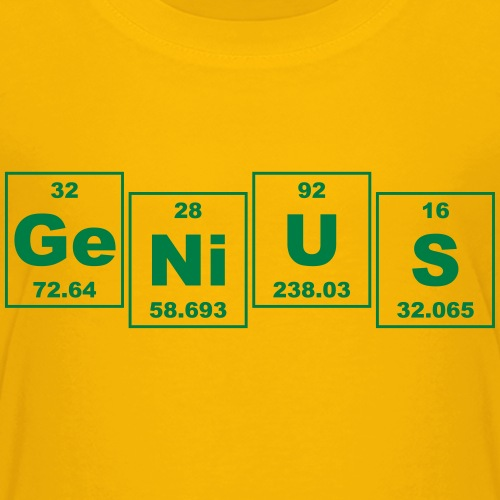 Ge-Ni-U-S (genius) - small