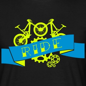 Mountainbike - Downhill Ride Compilation T-Shirts - Männer T-Shirt