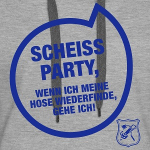 Scheiss Party Pullover & Hoodies - Frauen Premium Hoodie
