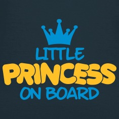 little princess on board T-Shirts