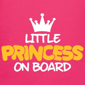 little princess on board T-Shirts - Women's Organic T-shirt