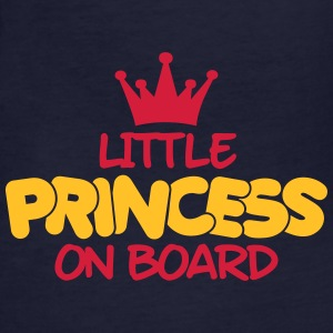 little princess on board T-Shirts - Frauen Bio-T-Shirt