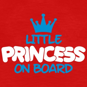 little princess on board T-Shirts - Frauen Premium T-Shirt