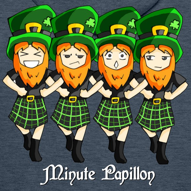 Mini-Kriss - Irlandais - Sweat homme