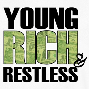 young, rich and restless Tee shirts - T-shirt Homme col V