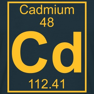 Element 048 - Cd (cadmium) - Full T-shirts - Herre-T-shirt