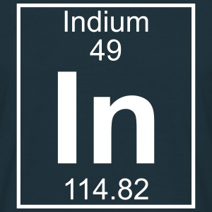 Element 049 - In (indium) - Full T-shirts - Herre-T-shirt