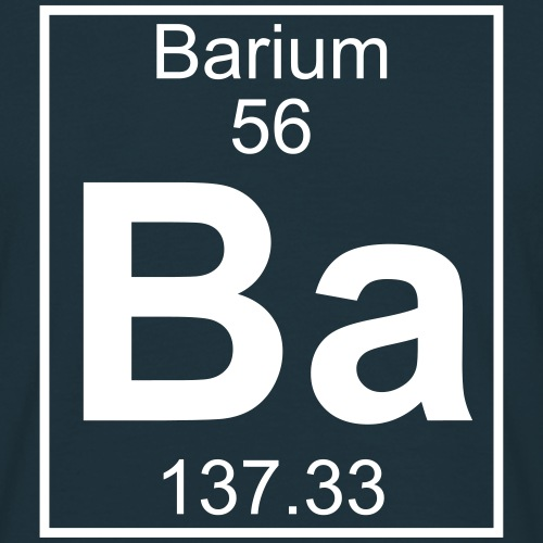 Barium (Ba) (element 56)