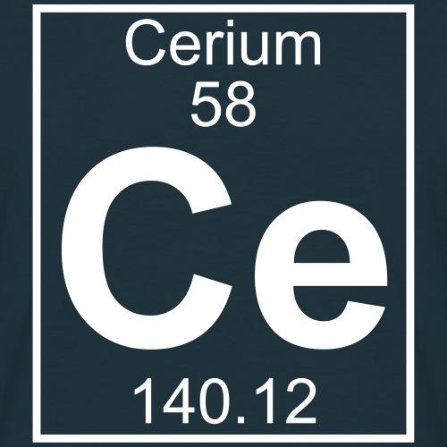 Cerium (Ce) (element 58)