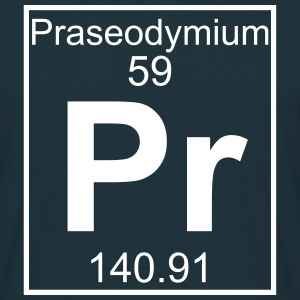 Praseodymium (Pr) (element 59) - Men's T-Shirt