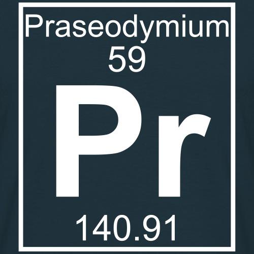 Praseodymium (Pr) (element 59)
