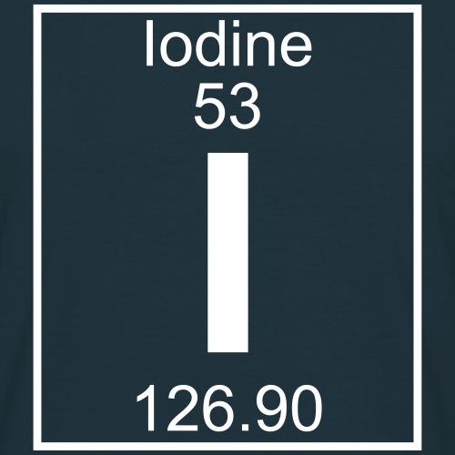 Iodine (I) (element 53)