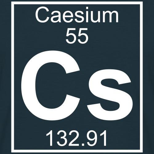 Caesium (Cs) (element 55)