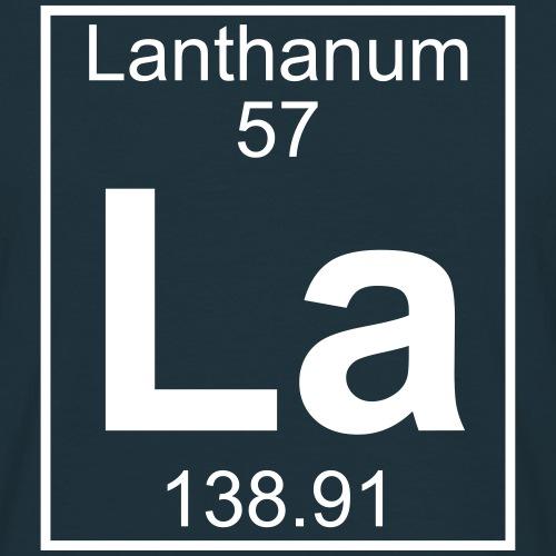 Lanthanum (La) (element 57)