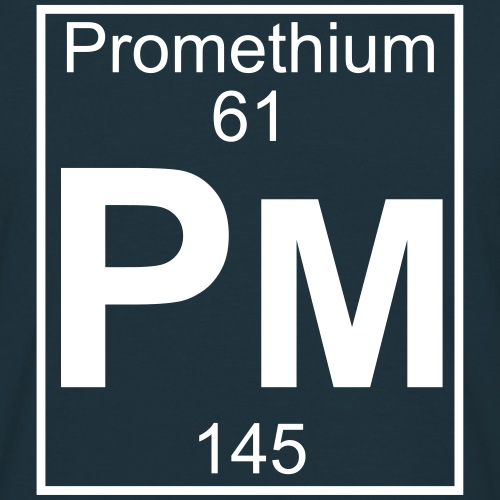 Promethium (Pm) (element 61)
