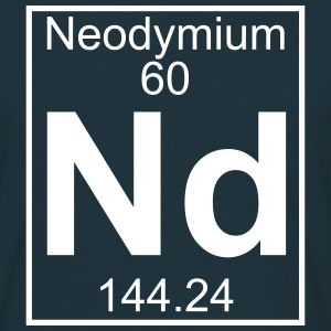 Element 060 - Nd (neodymium) - Full Koszulki - Koszulka męska