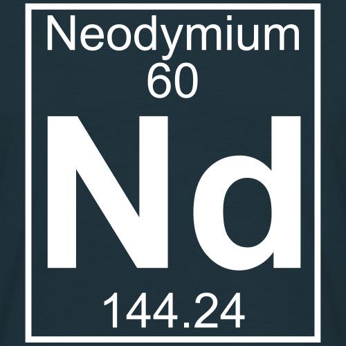 Neodymium (Nd) (element 60)