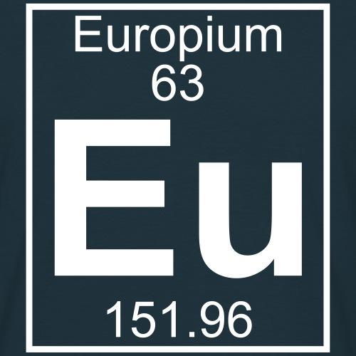 Europium (Eu) (element 63)