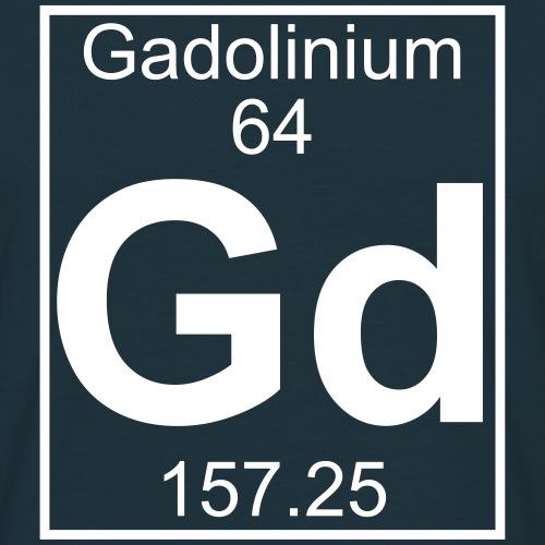 Gadolinium (Gd) (element 64)