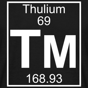 Element 069 - Tm (thulium) - Full T-shirts - Herre-T-shirt