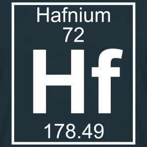 Element 072 - Hf (hafnium) - Full T-shirts - Herre-T-shirt