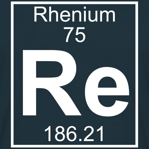 Rhenium (Re) (element 75)
