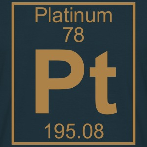 Element 078 - Pt (platinum) - Full T-shirts - Herre-T-shirt