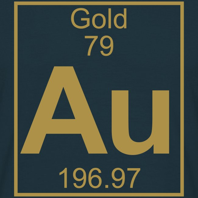 Periodic table words gold au element 79 full 1 col shirt gold au element 79 full 1 col shirt urtaz Images