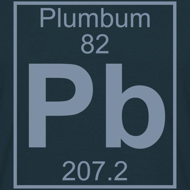 Periodic Table Words Plumbum Pb Element 82 Full 1 Col Shirt