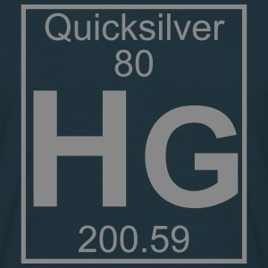 Element 080 - Hg (quicksilver) - Full T-shirts - Herre-T-shirt