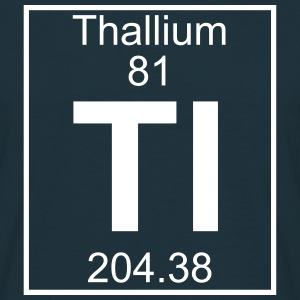 Element 081 - Tl (thallium) - Full T-shirts - Herre-T-shirt