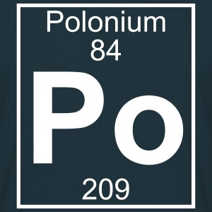 Element 084 - Po (polonium) - Full T-shirts - Herre-T-shirt