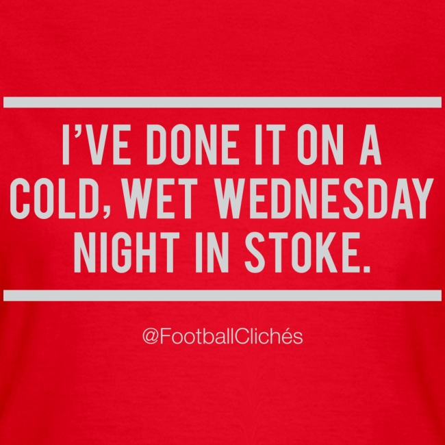 Cold, Wet, Wednesday in Stoke (Ladies)