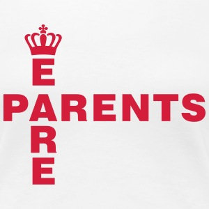 We are Parents Tee shirts - T-shirt Premium Femme
