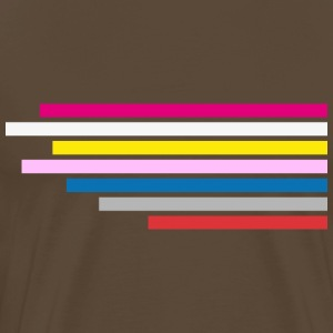 Shirt Design Big Bang TBBT Testbild Stripes - Männer Premium T-Shirt