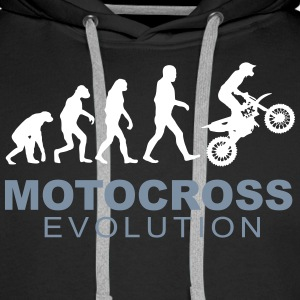 Motocross Evolution Hoodies & Sweatshirts - Men's Premium Hoodie