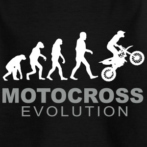 Motocross Evolution T-Shirts - Kinder T-Shirt
