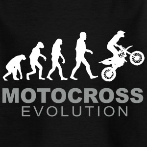 Motocross Evolution T-shirts - T-shirt tonåring