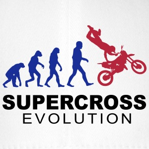 Supercross Evolution Cappelli & Berretti - Cappello con visiera Flexfit