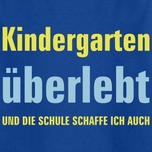 kindergarten überlebt T-Shirts - Teenager T-Shirt