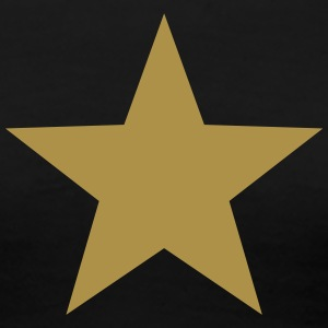 Gold Star, Winner, Best, Hero, Award, Insignia T-Shirts - Women's Premium T-Shirt