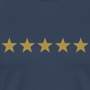 5 Stars, winner, hero, best, five, golden, award T-Shirts - Men's Premium T-Shirt