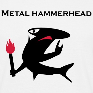 Metal hammerhead - Men's T-Shirt