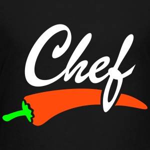 Chef Grillmeister Grillchef Chefkoch  T-Shirts - Teenager Premium T-Shirt