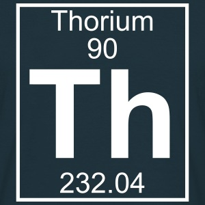 Element 090 - Th (thorium) - Full T-shirts - Herre-T-shirt