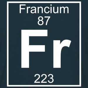 Element 087 - Fr (francium) - Full T-shirts - Herre-T-shirt