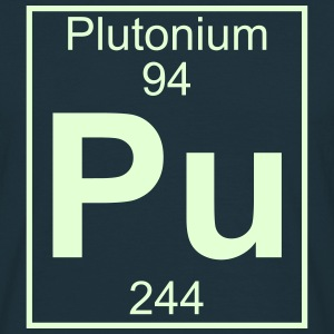 Element 094 - Pu (plutonium) - Full T-shirts - Herre-T-shirt