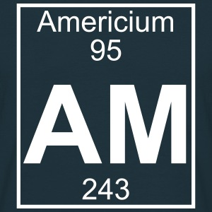 Element 095 - Am (americium) - Full Koszulki - Koszulka męska