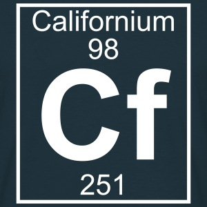 Element 098 - Cf (californium) - Full T-shirts - Mannen T-shirt